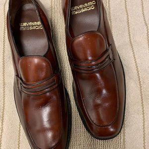 Weyenberg Massagic Silk Label Loafers Sz 10.5B